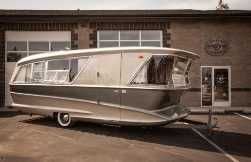 Rare 1960s caravan offers midcentury living on the go