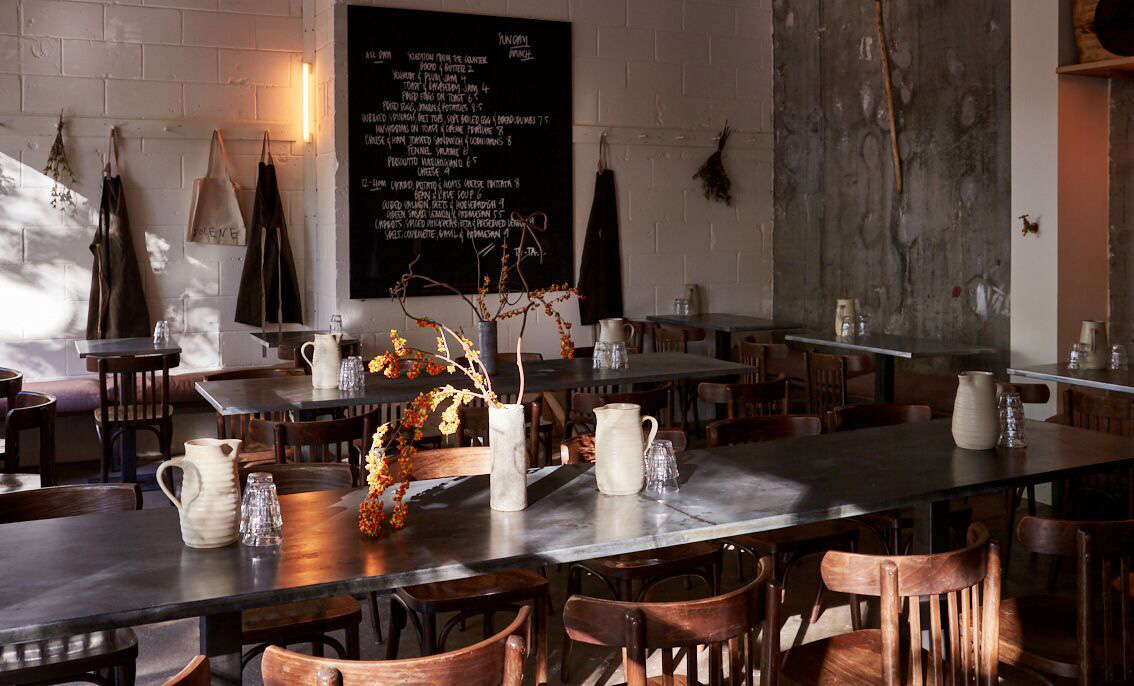 Jolene London restaurant interiors