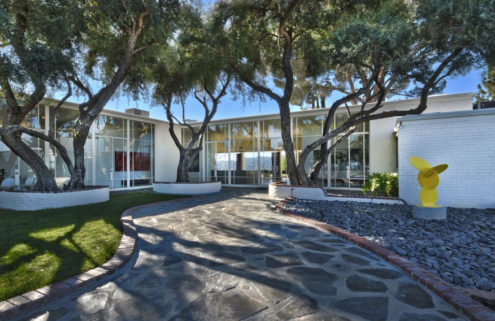 Frank Sinatra's former LA home hits the market for $12.5m