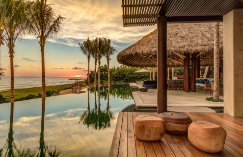 Casa Koko is a barefoot retreat in Mexico's Punta Mita community