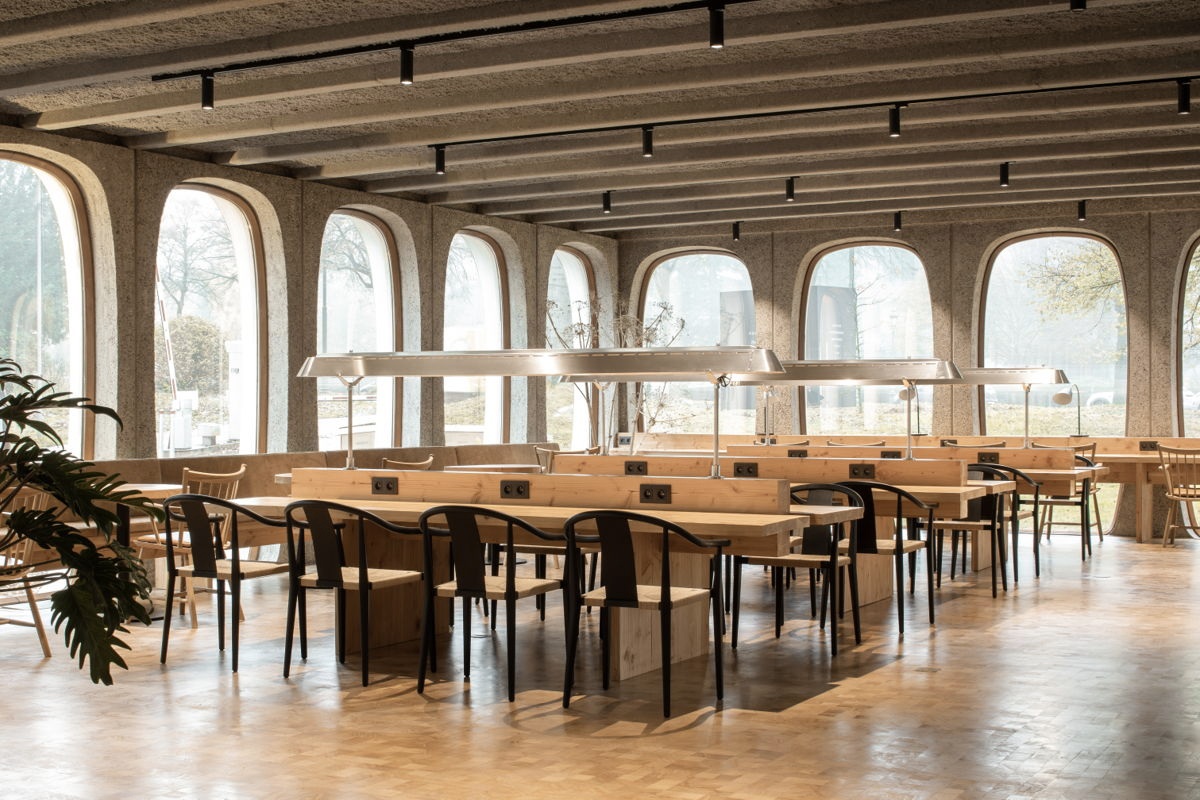Brutalist Brussels landmark becomes coworking space Fosbury & Sons