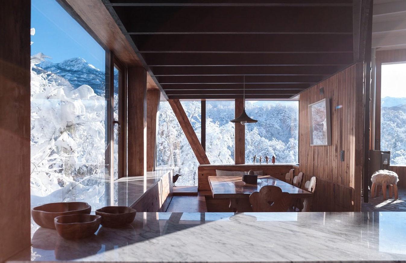 La Dacha cabin for rent in Chile