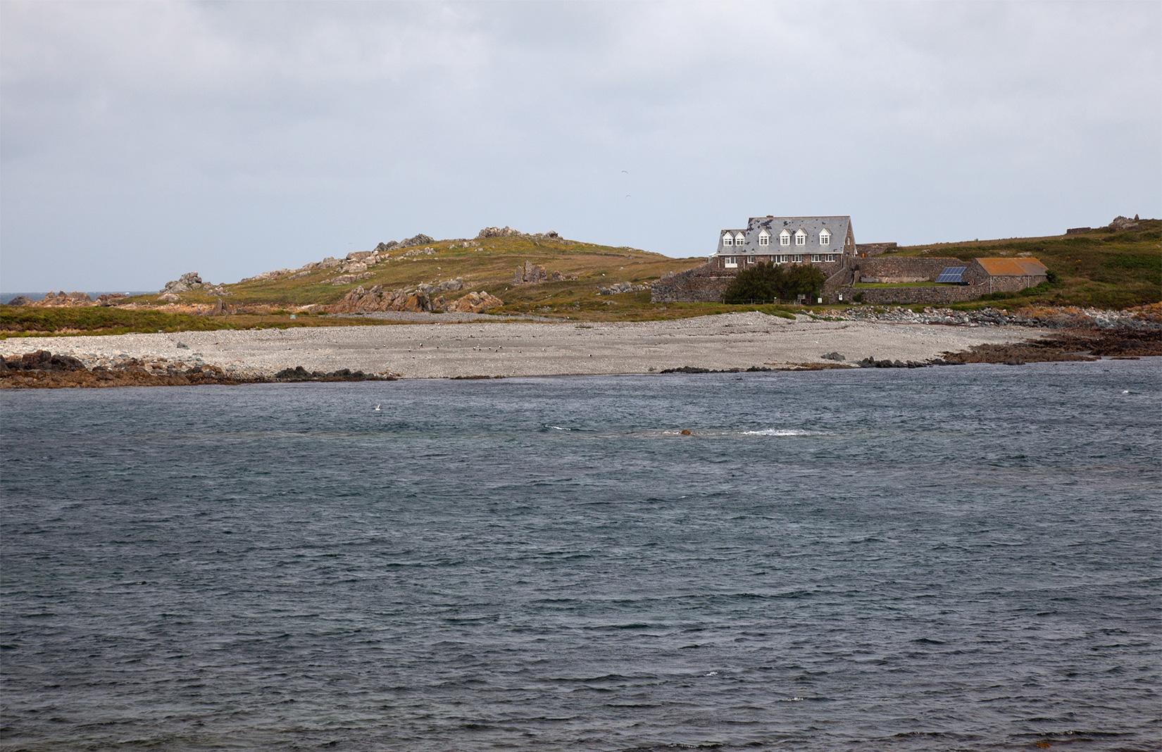 Lihou Island off the coast of Guernsey
