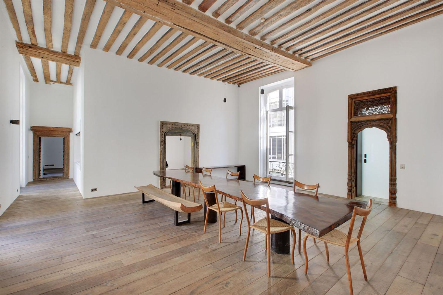 Marais loft for sale via Propriétés Parisiennes Sotheby's International Realty