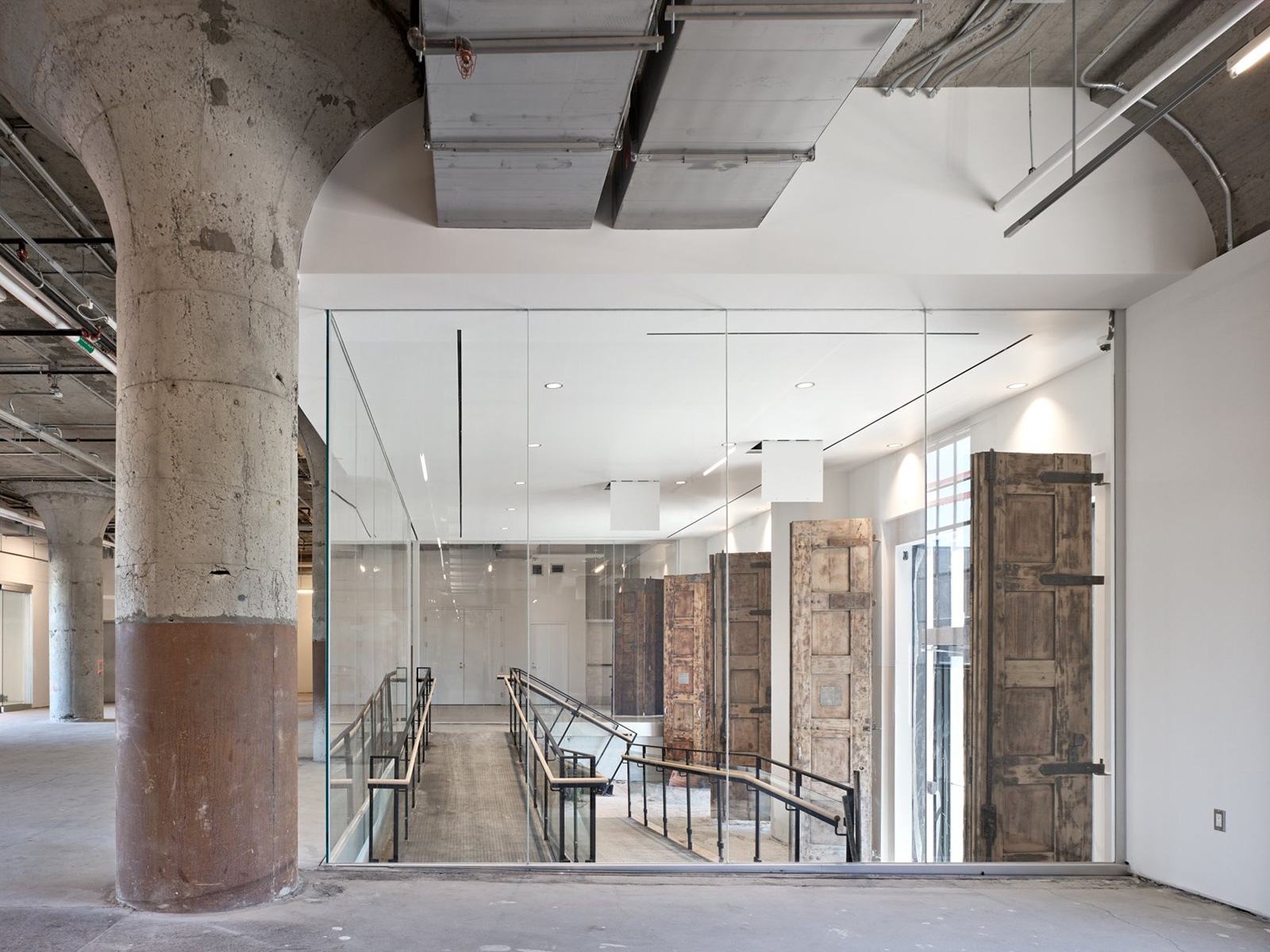 MOCA- Museum of Contemporary Art in Toronto, radical adaptive reuse project