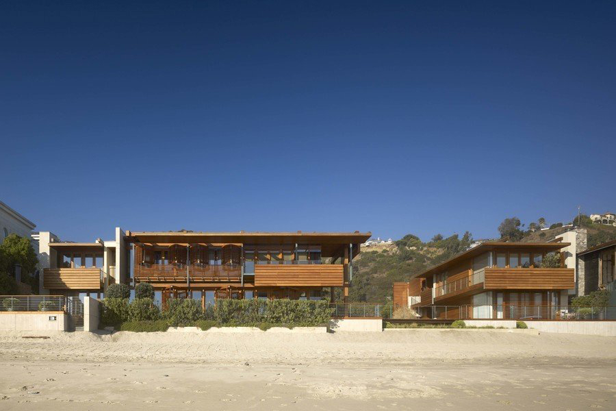 Record-breaking Malibu beach house