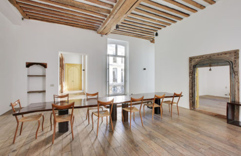 Artist's loft with historic bones hits the market in Paris for €9.2m
