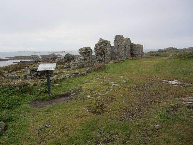 St Mary's Priory ruins