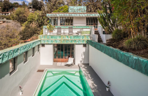 Lloyd Wright's Samuel Novarro House returns to the market for $4.295m