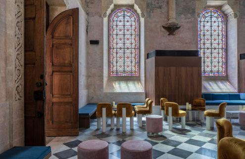The Jaffa Chapel, Jaffa Hotel adaptive reuse project in Israel