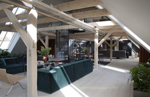 Cosy up in this Copenhagen loft by David Thulstrup