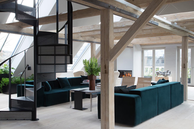 Cosy up in this minimalist Copenhagen loft by David Thulstrup