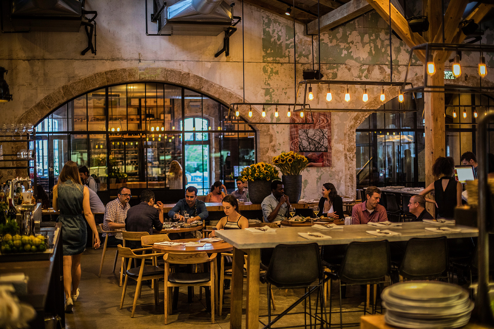 8 Tel Aviv Restaurants For Design Buffs The Spaces