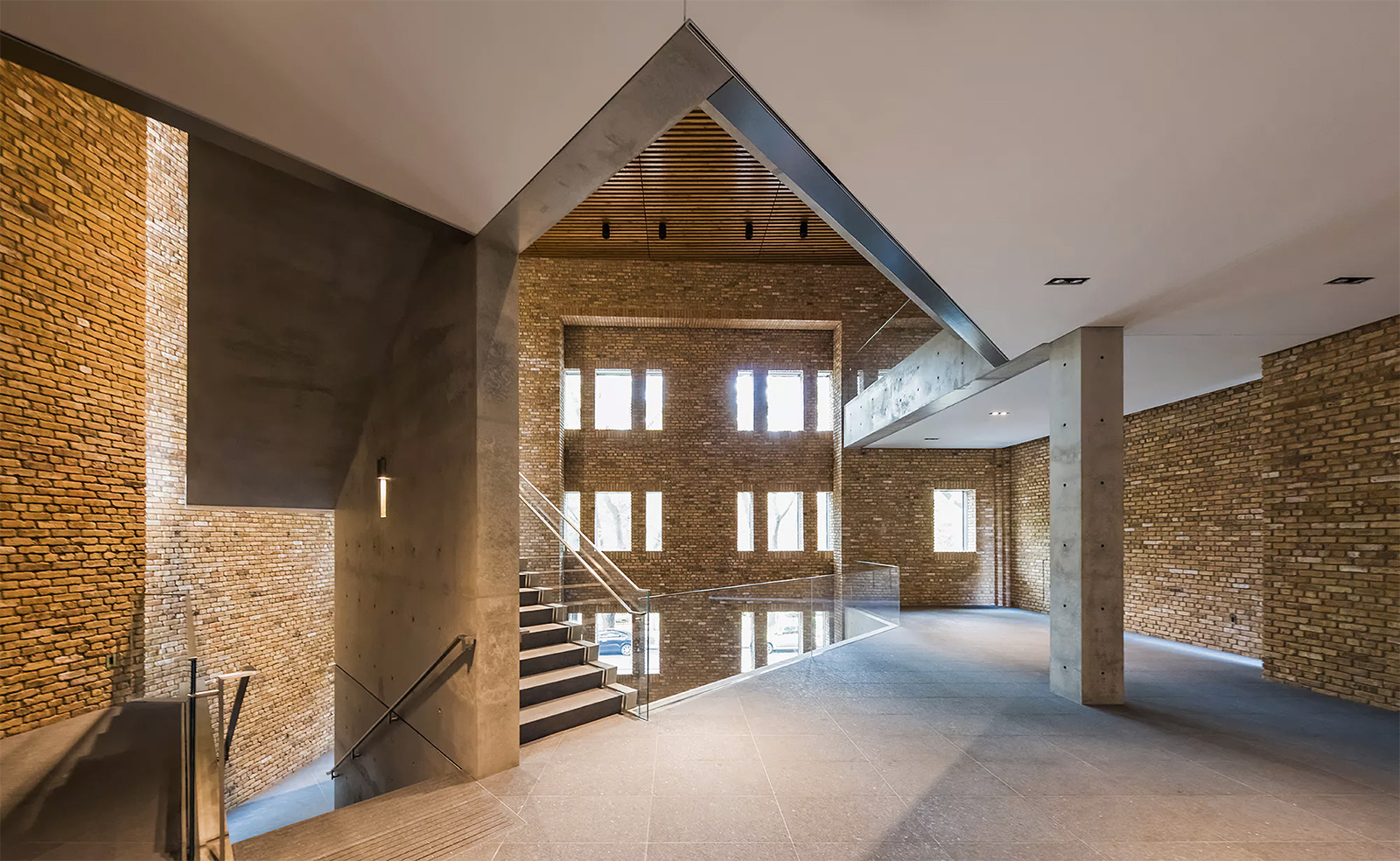 Wrightwood 659 in Chicago - adaptive reuse project by Tadao Ando