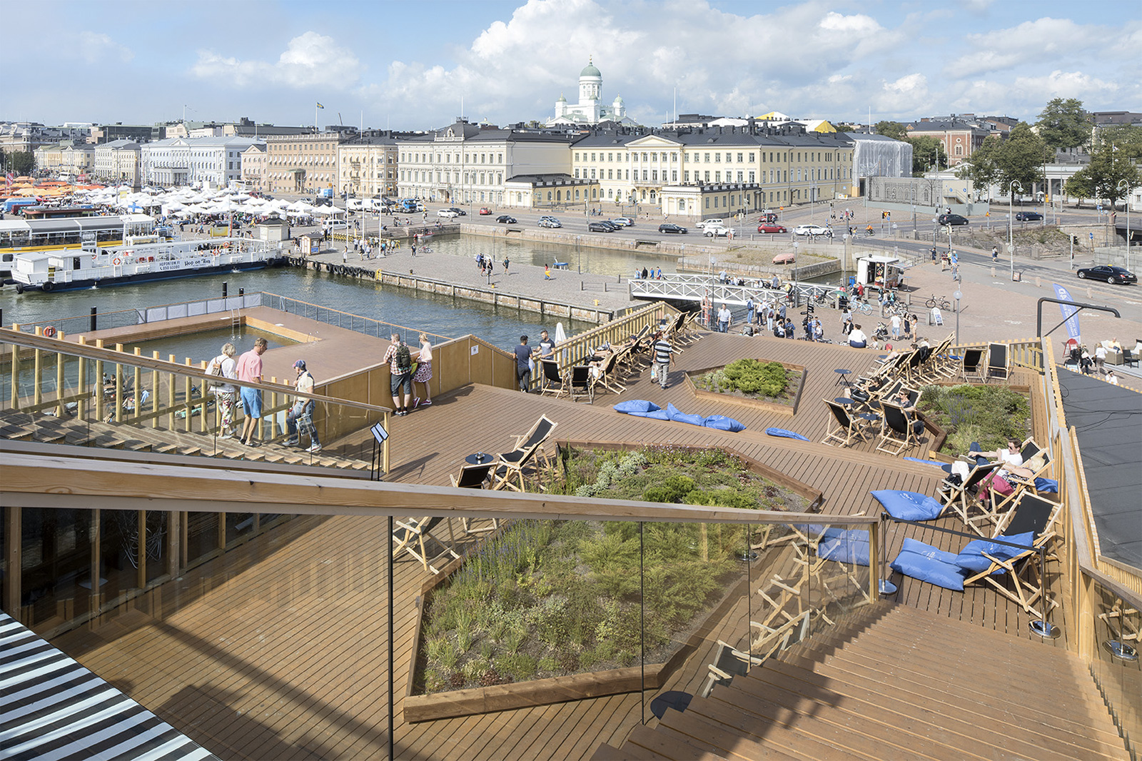 Allas Sea Pools in Helsinki