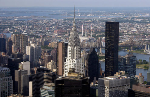 Art Deco icon The Chrysler Building is for sale