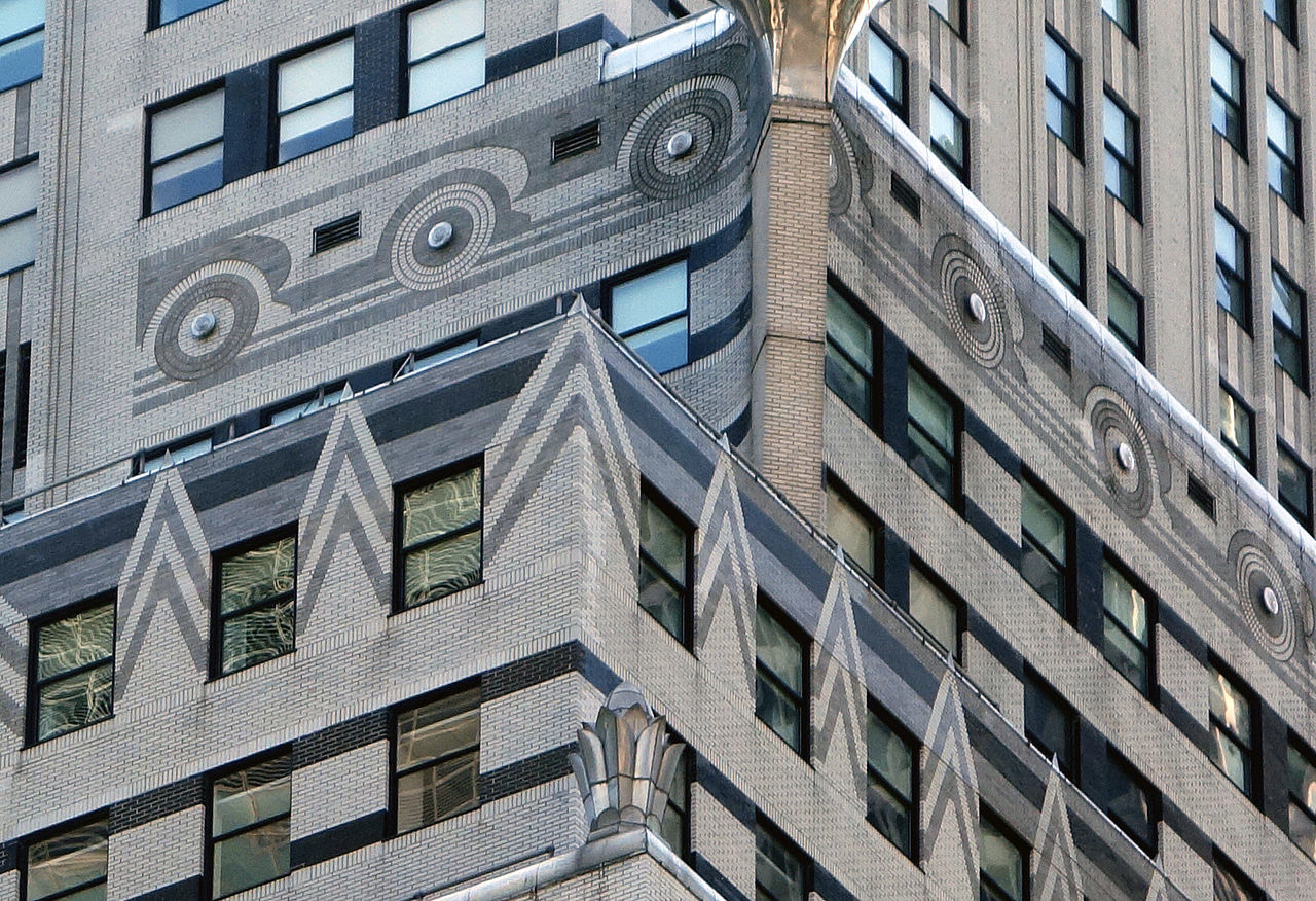 Detail of the Chrysler Building exterior