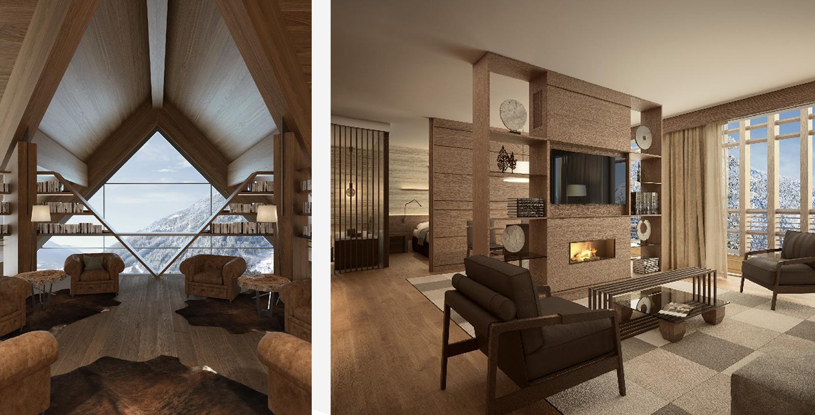 Dolomites wellness retreat, apartments for sale via Engel & Völkers