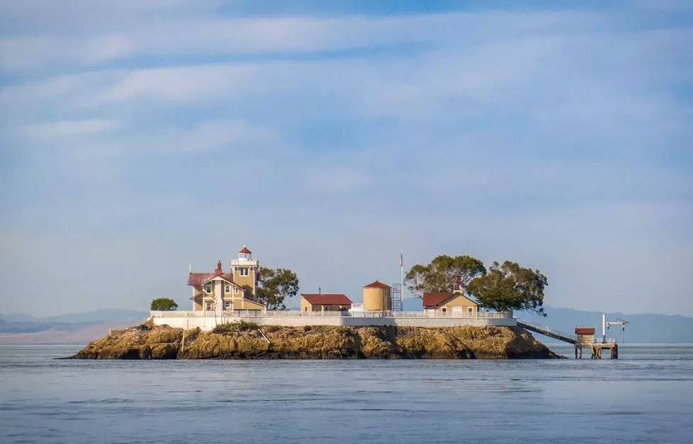East Brother Lighthouse in San Francisco