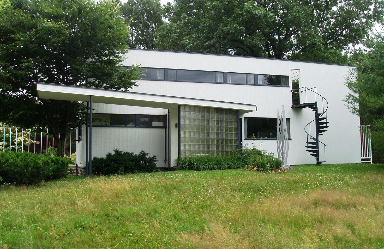 Gropius House in Lincoln, Massachusettes