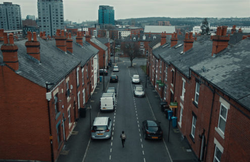 Sheffield's Landsdowne Estate is the backdrop for Adelphi Music Factory track 'Javelin'