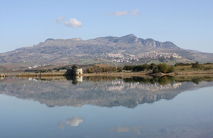 Panoramic view of Sambuca in Sicily