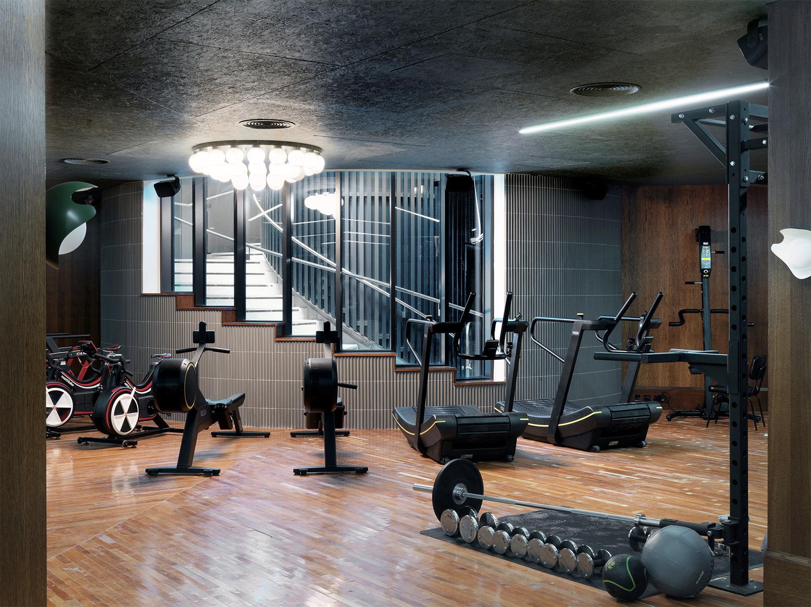 Soho house gym White City Television Centre