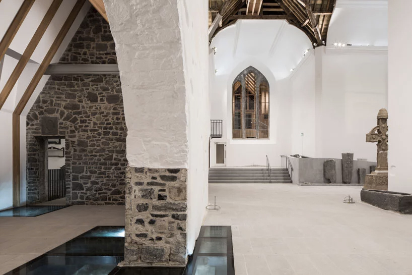 Medieval church turned museum in Ireland