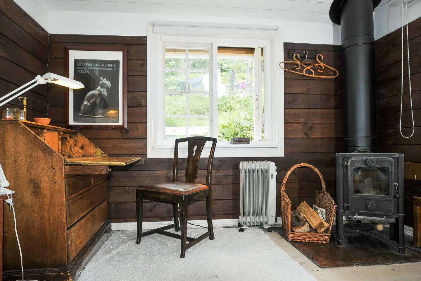 Stockholm writer's cabin for rent via Airbnb