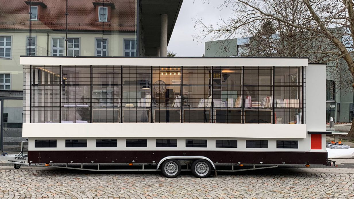 Where to experience the Bauhaus in 2019: hop on the Bauhaus bus - on tour this year