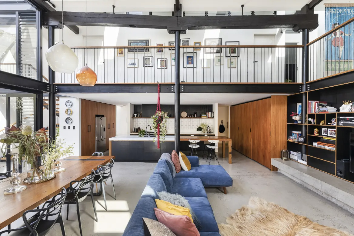 An award-winning converted warehouse hits the market in Sydney's Annandale