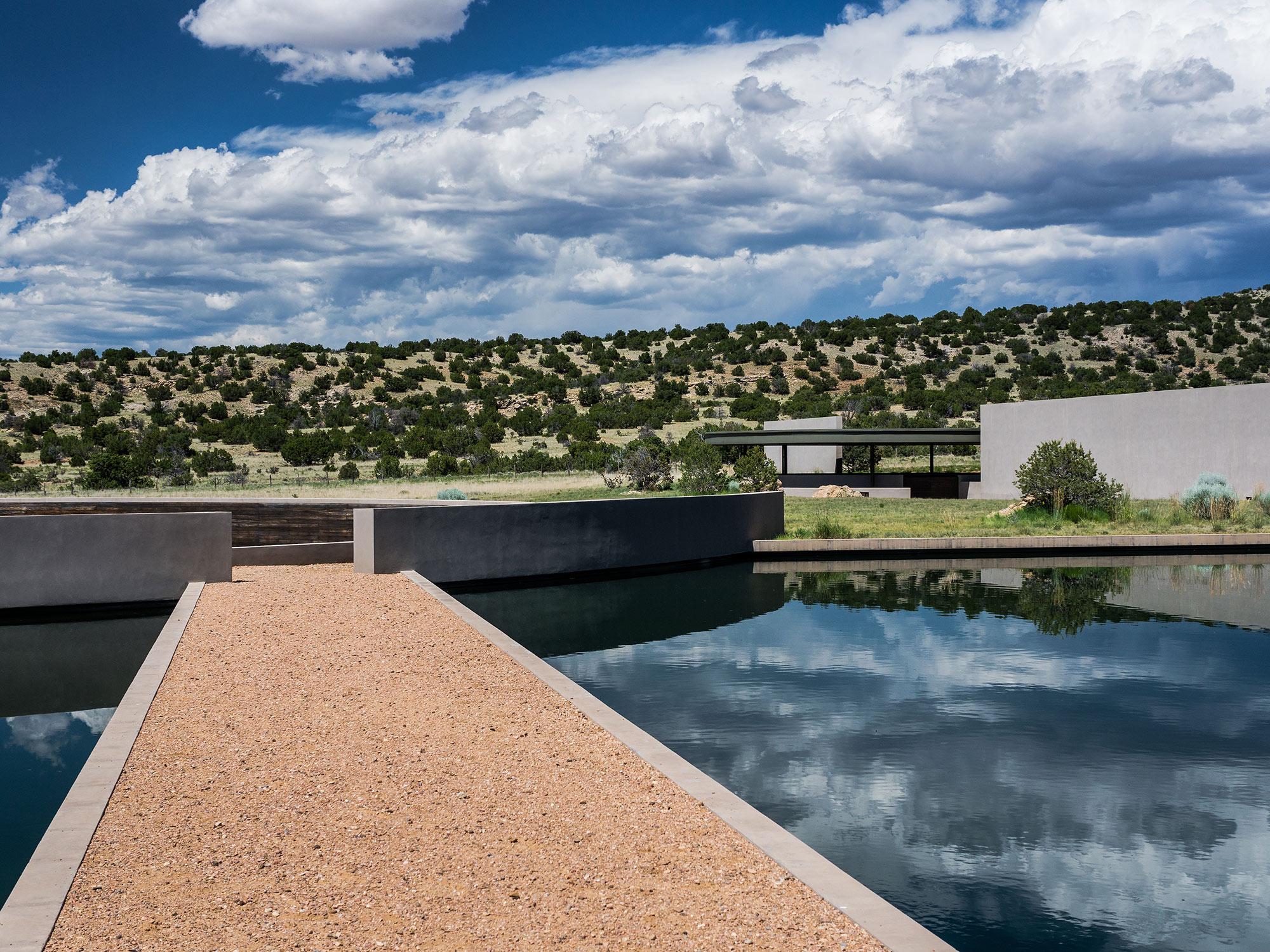 Tom Ford's Cerro Pelon Ranch in Santa Fe by Tadao Ando