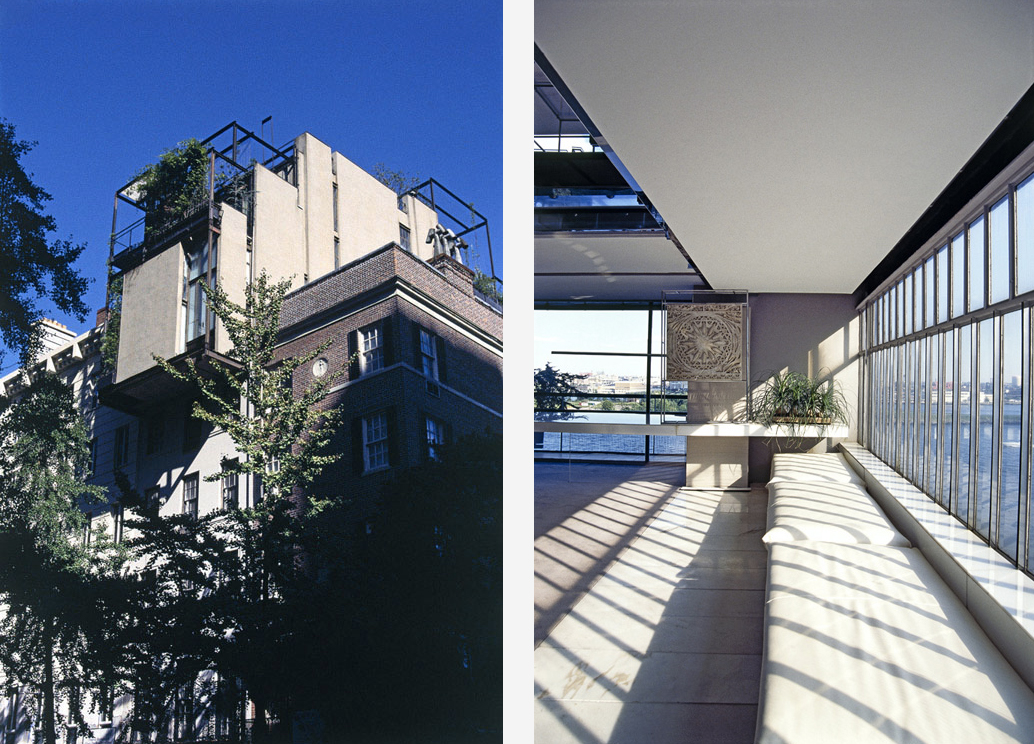 Paul Rudolph's former home hits the market in Manhattan for $18.5m