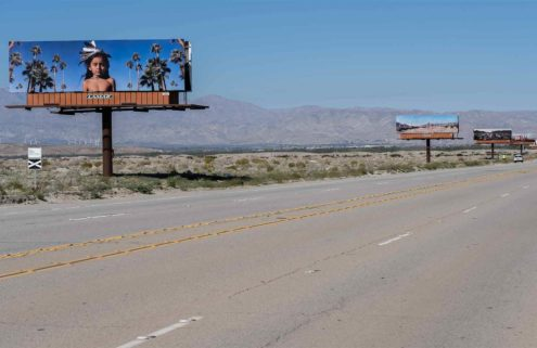 Billboards bring Native American culture into the spotlight at Desert X