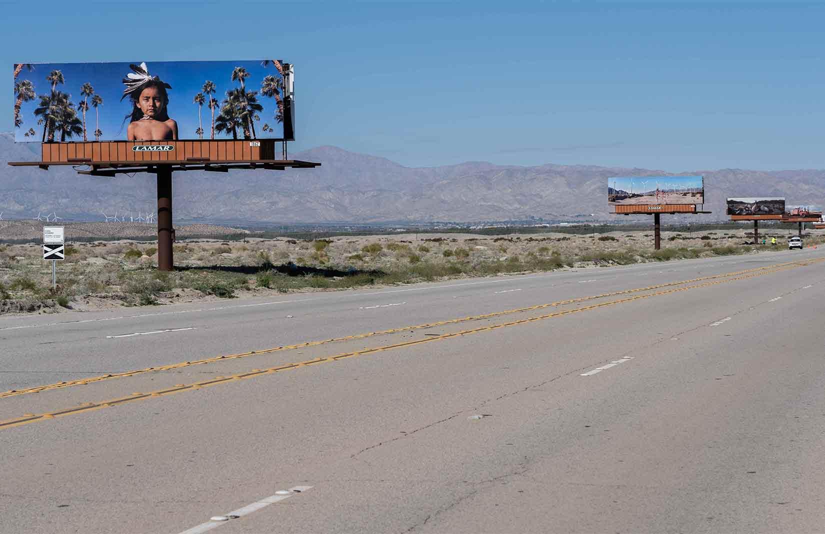 Cara Romero, 'Jackrabbit, Cottontail & Spirits of the Desert'. Photography: James Mead
