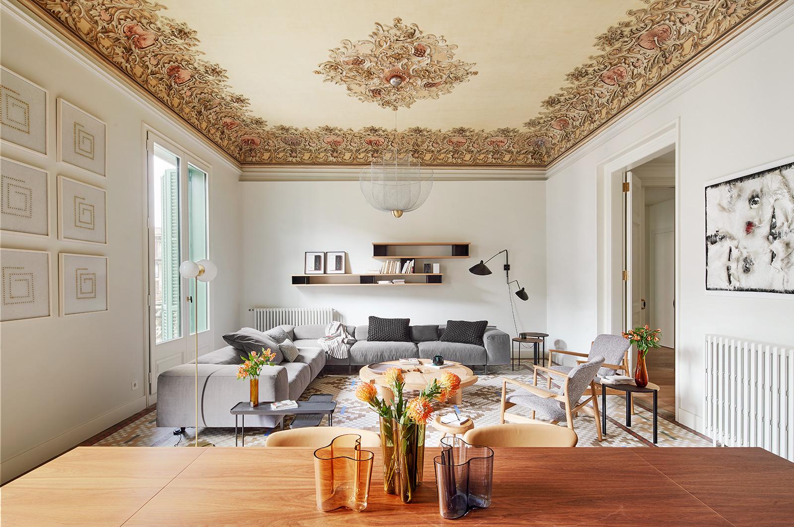 Peek inside the show apartment of Barcelona landmark Casa Burés