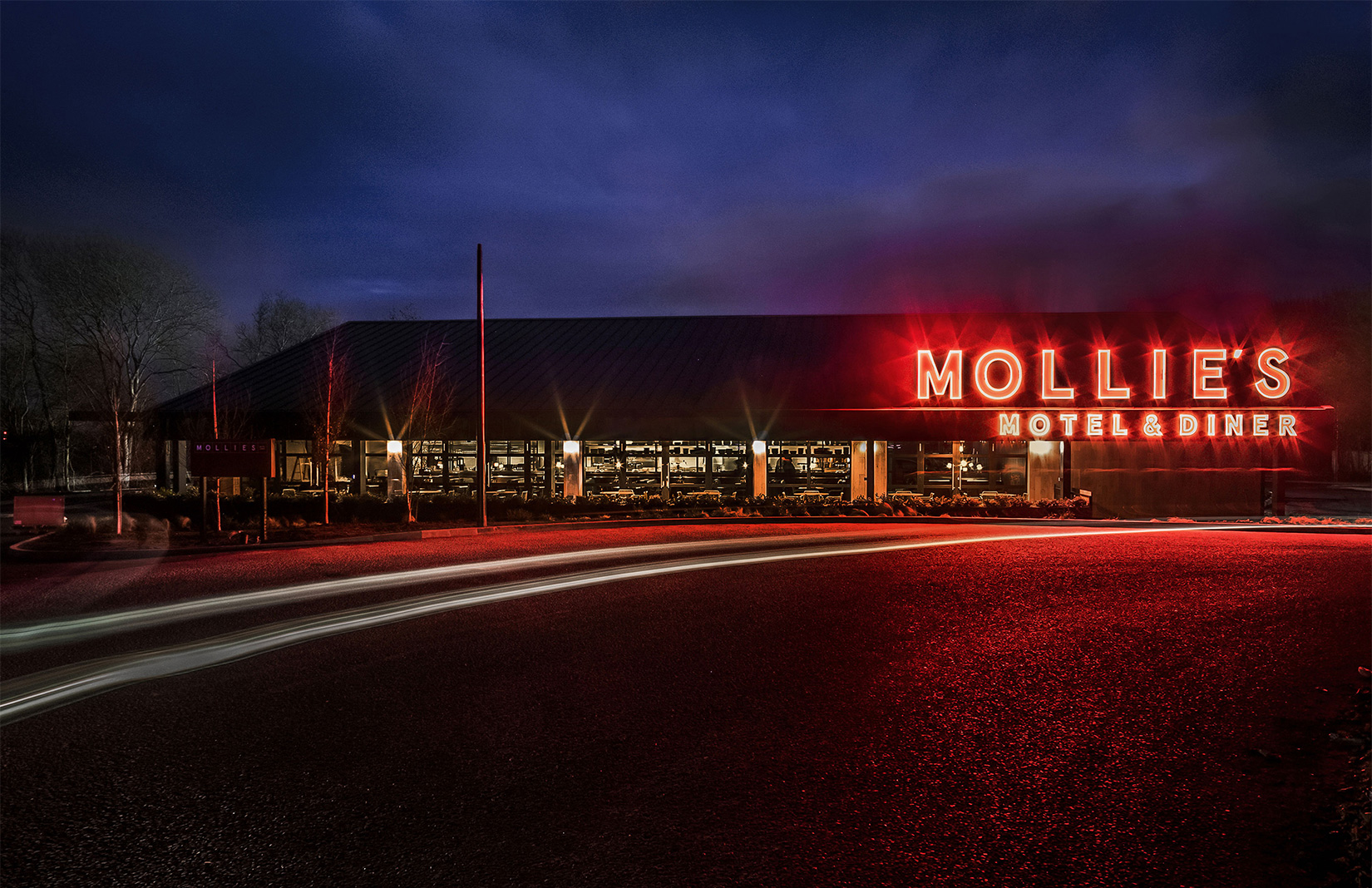 Mollie's Motel & Diner by Soho House offers 'budget luxury' in Oxfordshire