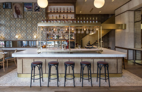 Athens bar Papillon channels Parisian cafe culture