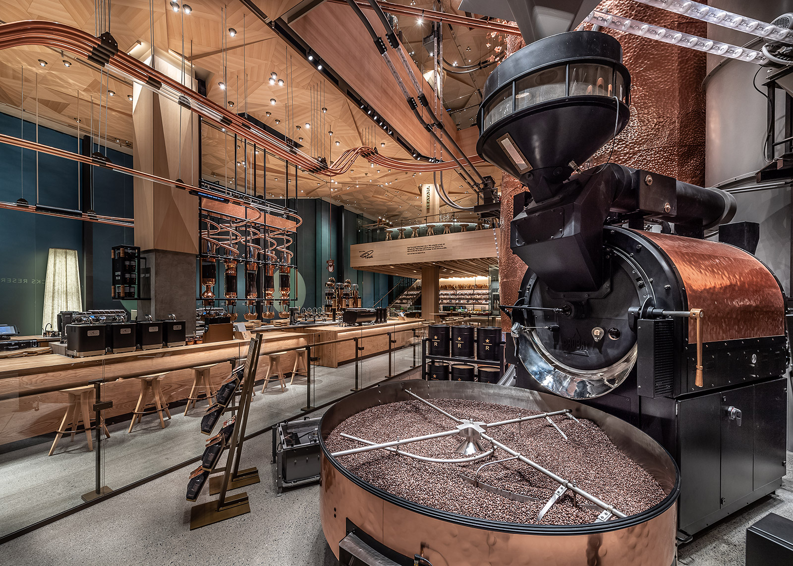 Starbucks' Kengo Kuma-designed Reserve Roastery opens in Tokyo
