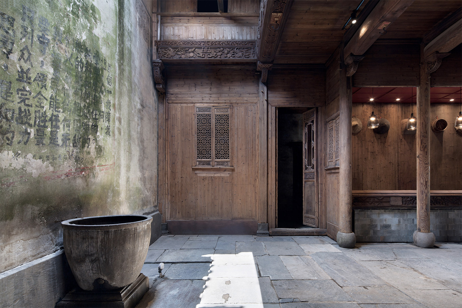 A 300-year-old ruin is restored as a hotel in rural China