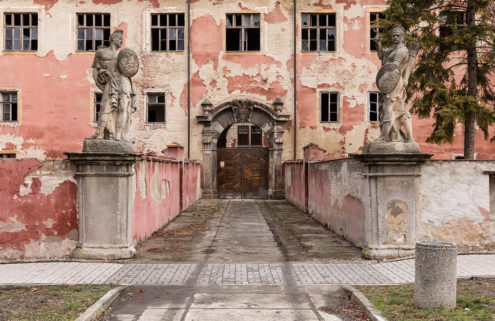 Renovation challenge: a bohemian castle near Prague is ripe for redevelopment