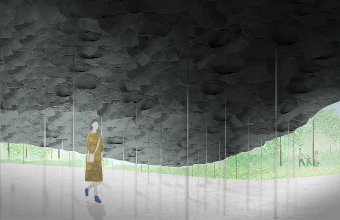 Japanese architect Junya Ishigami is designing the 2019 Serpentine Pavilion