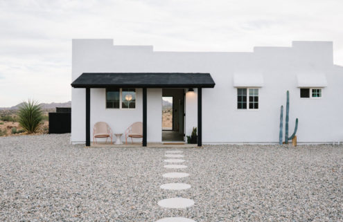 Explore a minimalist desert retreat near California's Joshua Tree National Park