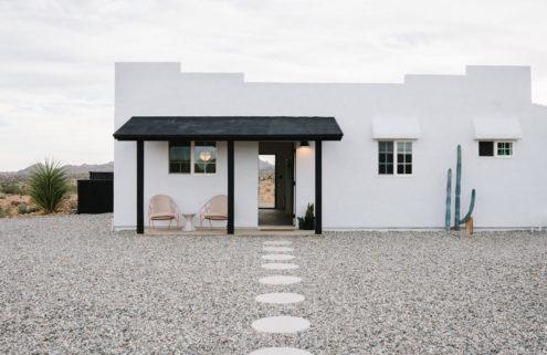 Explore a minimalist desert retreat in California's Joshua Tree National Park