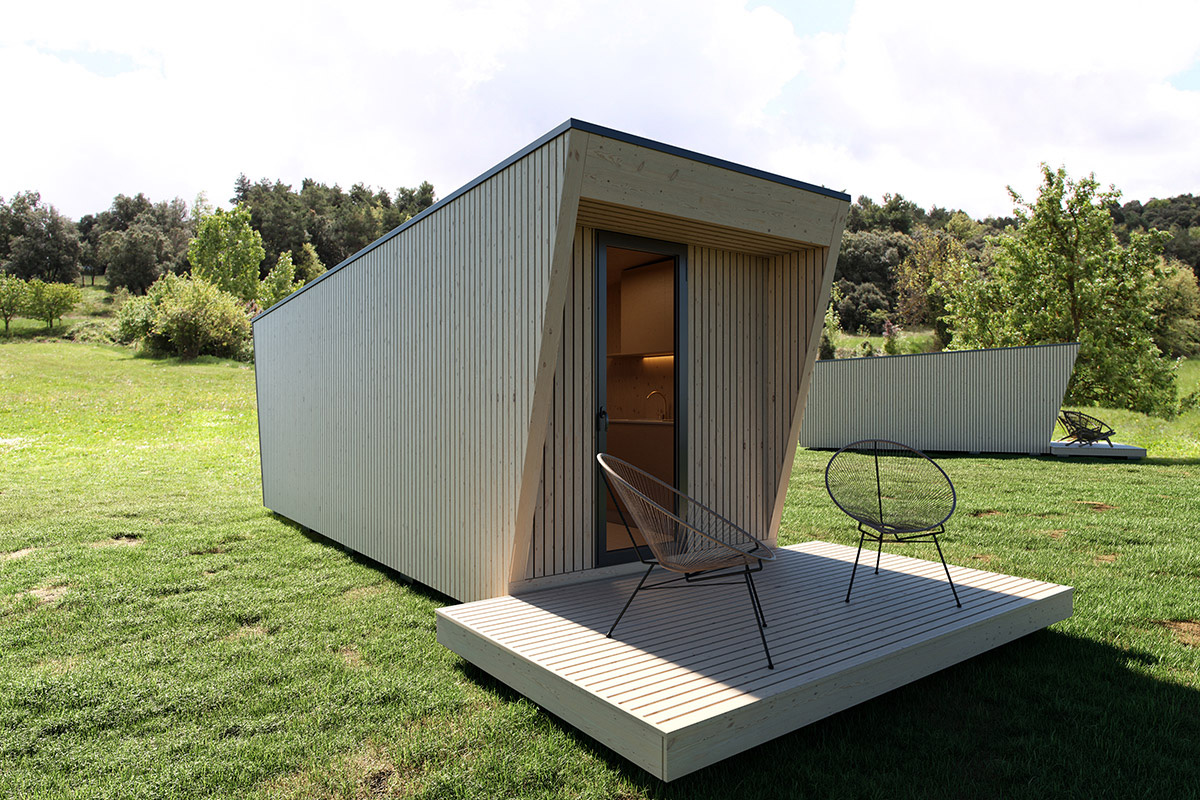 'Drop Box' hotel suites are designed for remote locations