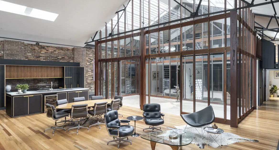 A Freshly Converted Warehouse Is Headed For Auction In