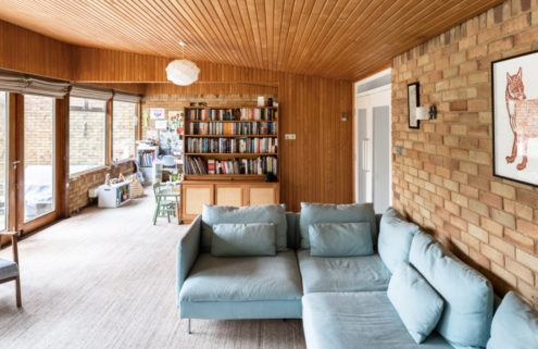 Midcentury modern home lists for £875,000 in East Sussex