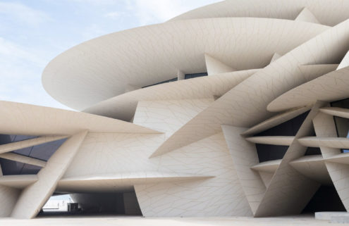 Jean Nouvel's National Museum of Qatar opens in Doha