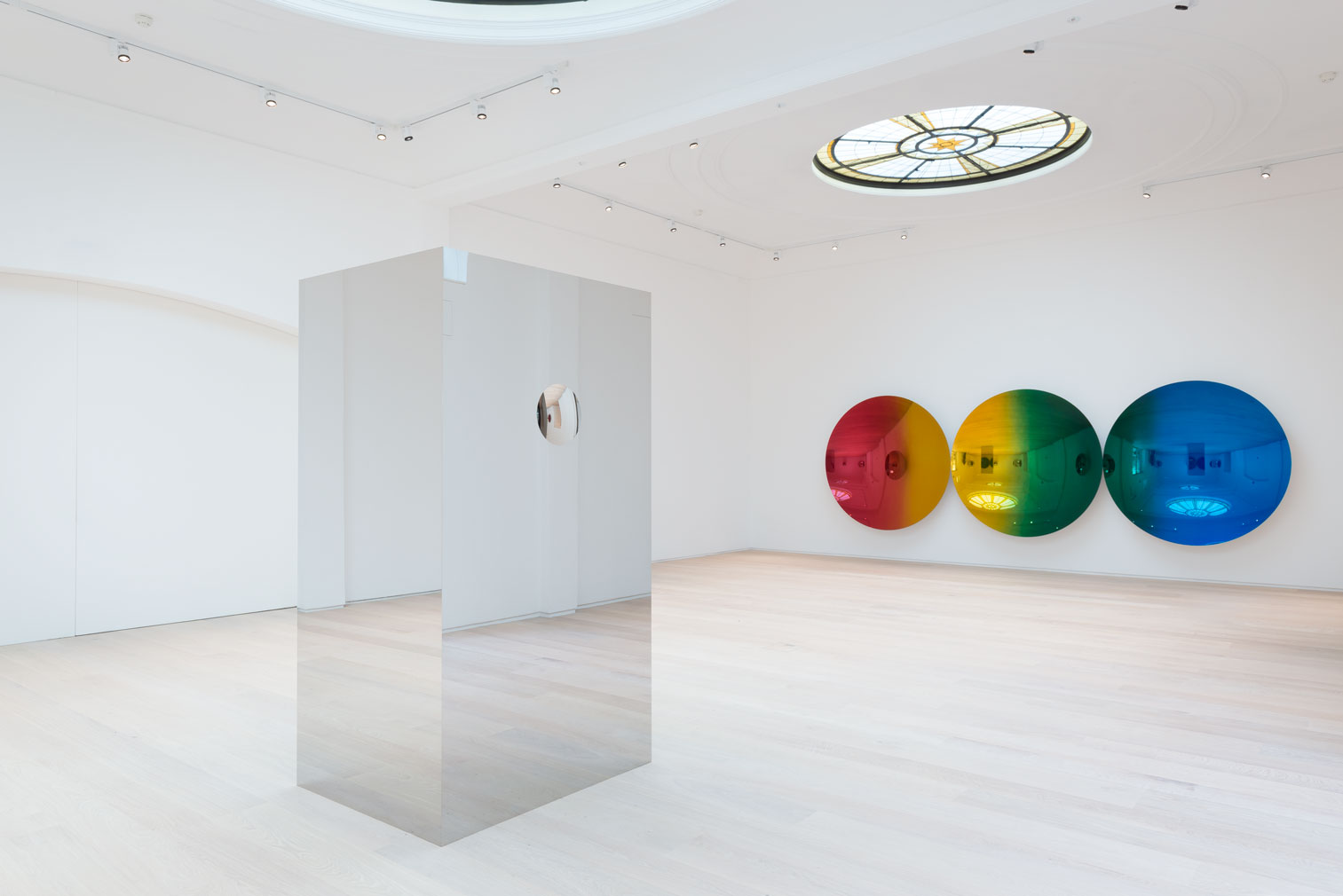 Installation view of Anish Kapoor at London's Pitzhanger Manor