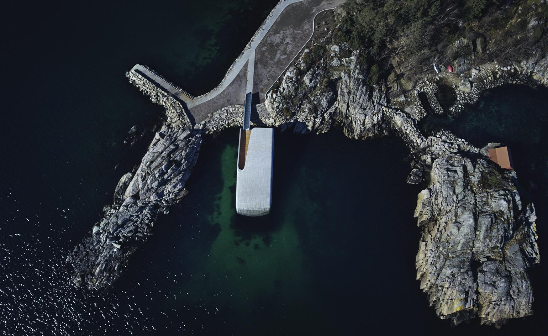 Europe's first underwater restaurant opens in Norway